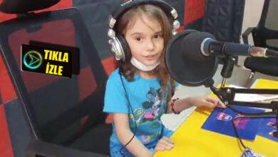 Photo of Küçük kız katıldığı canlı yayında Korona dersi verdi.
