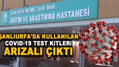Photo of Şanlıurfa'daki Korona Testleri Arızalı Çıktı