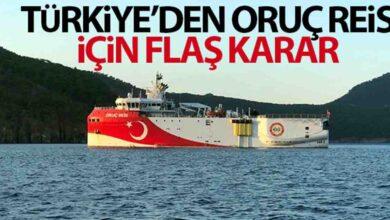 Photo of Oruç Reis İçin Flaş Karar