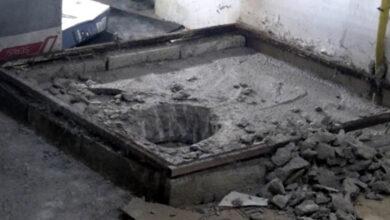 Photo of Cani damat boğduktan sonra üzerine beton dökmüş