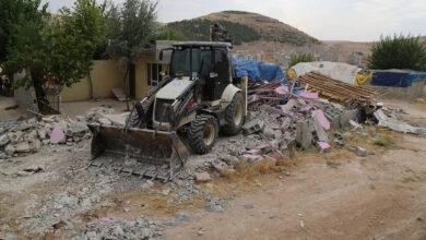 Photo of Şanlıurfa'da kaçak yapılar yerle bir edildi