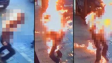 Photo of Tiner kullanan iki kardeş birbirini yaktı