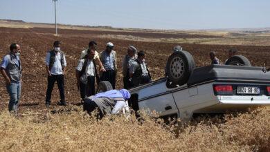 Photo of Urfa'da Otomobil Takla Attı