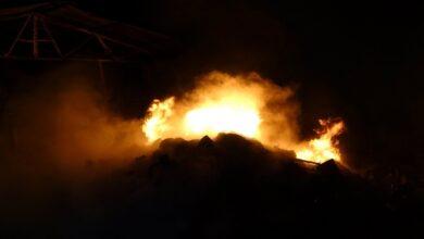 Photo of Geri dönüşüm istasyonunda yangın