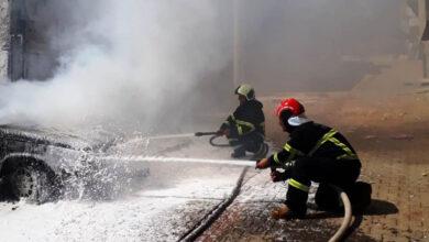 Photo of Otomobil, Urfa Sıcağına Dayanamadı Küle Döndü