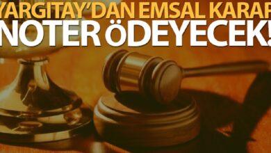 Photo of Yargıtay'dan emsal karar! noter sorumlu