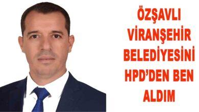 Photo of Özşavlı Viranşehir belediyesini HDP den ben aldım