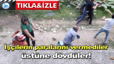 Photo of İşçilerin paralarını vermediler üstüne dövdüler!