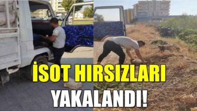 Photo of İsot hırsızları yakalandı!