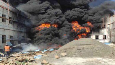 Photo of Şanlıurfa'da İnşaata çıkan yangın korkuttu