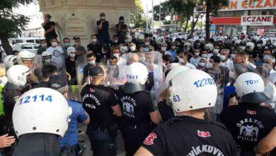 Photo of Şanlıurfa'da HDP'nin izinsiz gösterisinde 5 gözaltı