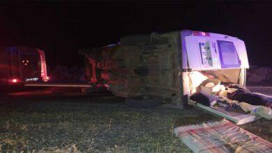 Photo of Şanlıurfa'da trafik kazası 7 yaralı