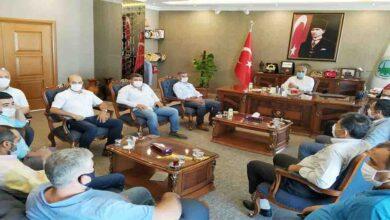 Photo of Medikalciler taleplerini başkan peltek'e iletti