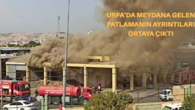 Photo of Urfa'da Meydana Gelen Patlama'nın Ayrıntıları