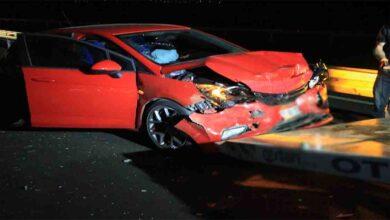Photo of 3 araç birbirine girdi: 10 yaralı
