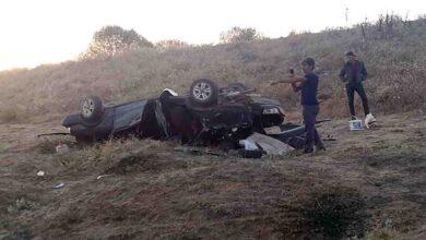 Photo of Otomobil şarampole devrildi: 1 ölü, 2 yaralı