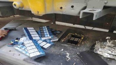 Photo of Urfa Gümrükte 2 bin 170 paket sigara ele geçirildi
