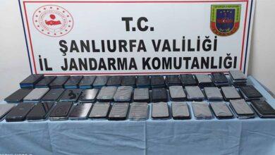 Photo of Şanlıurfa'da 157 gümrük kaçağı telefon ele geçirildi