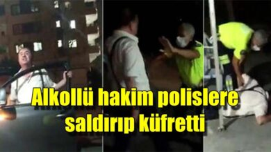 Photo of Alkollü hakim polislere saldırıp küfretti