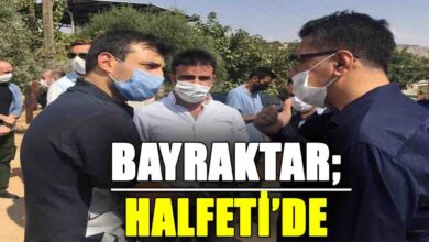 Photo of Bayraktar; Halfeti'de