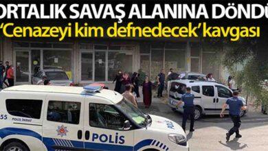 Photo of 'Cenazeyi kim defnedecek' kavgası