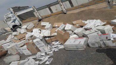 Photo of Urfa'da 37 bin paket kaçak sigara ele geçirildi