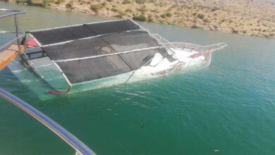 Photo of Halfeti'de tur teknesi battı, faciadan dönüldü