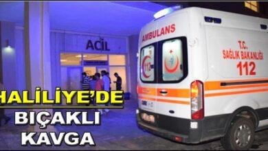 Photo of Haliliye'de bıçaklı kavga!