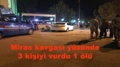 Photo of Miras kavgası yüzünden 3 kişiyi vurdu 1 ölü