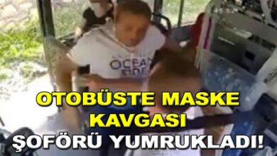 Photo of Otobüsde maske kavgası şoförü yumrukladı!