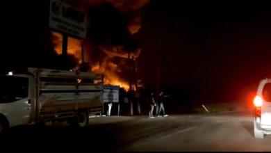 Photo of Soğuk hava deposunda büyük yangın