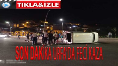 Photo of Son dakika urfa'da feci kaza