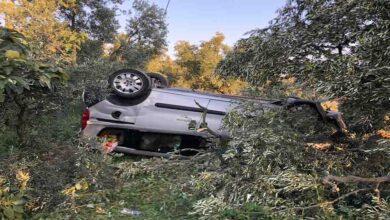 Photo of Takla atan araçta aynı aileden 5 kişi yaralandı
