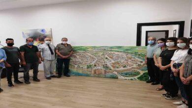 Photo of Tarihi kent, ressamın fırçasıyla yeniden canlandı