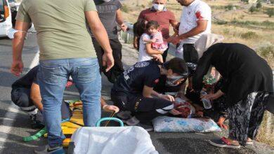 Photo of Trafik kazası: 1'i ağır, 5'i çocuk 7 yaralı