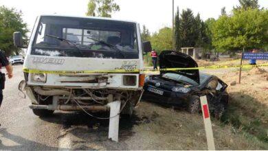 Photo of Trafik kazası: 2 ölü, 4 yaralı