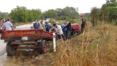 Photo of Traktör devrildi: 1'i ağır 3 yaralı