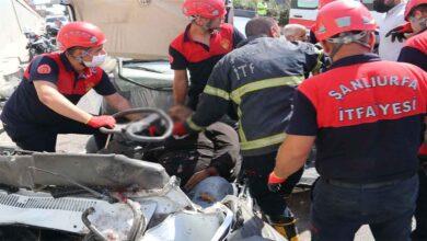 Photo of Urfa'da Karşı şeride geçen araç faciaya neden oldu