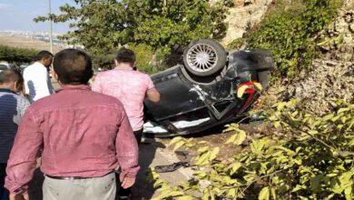 Photo of Urfa'da otomobil hurdaya döndü