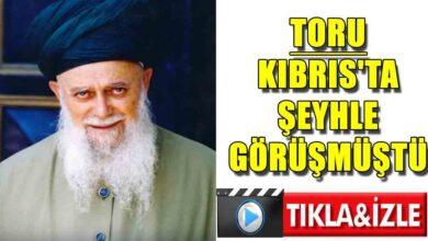 Photo of Toru Kıbrıs'ta şeyhle görüşmüştü