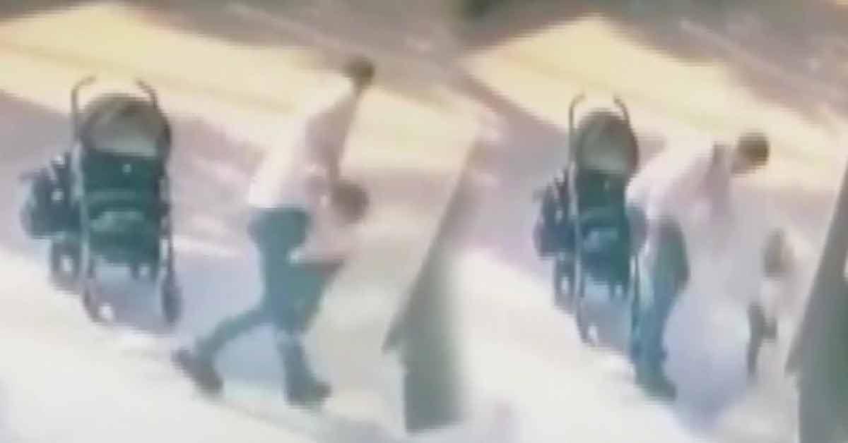 Çocuğunu Dövdü