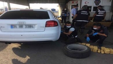 Photo of Polisin aracından 61 kilo 750 gram eroin çıktı