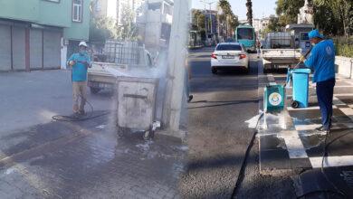 Photo of Haliliye Belediyesi Çöp Kovalarını Bile Yıkadı