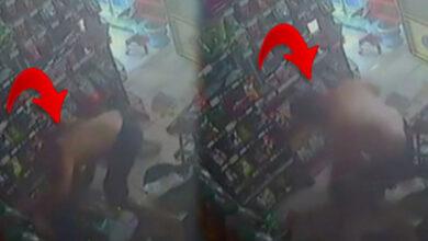 Photo of Marketçi kadını tekme tokat dövdü