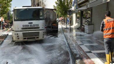 Photo of Siverek Belediyesi, Caddeleri Yıkıyor