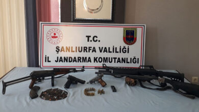 Photo of Şanlıurfa'da silah kaçakçılarına operasyon: 2 gözaltı