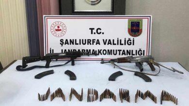 Photo of Urfa'da 2 Adet Kalaşnikof Ele Geçirildi