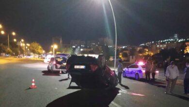 Photo of Urfa'da Hızını Alamayan Araç Ters Döndü