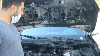 Photo of Urfa'da Kiraladıkları otomobil yanarak kullanılamaz hale geldi
