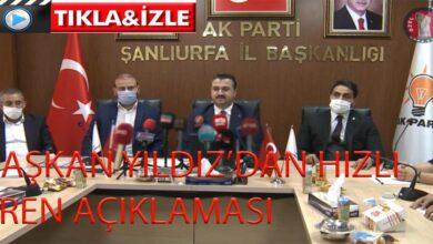 Photo of Başkan Yıldız'dan hızlı tren açıklaması
